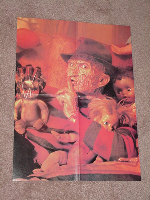 A Nightmare on Elm Street Poster # 5 Freddy Shhh!