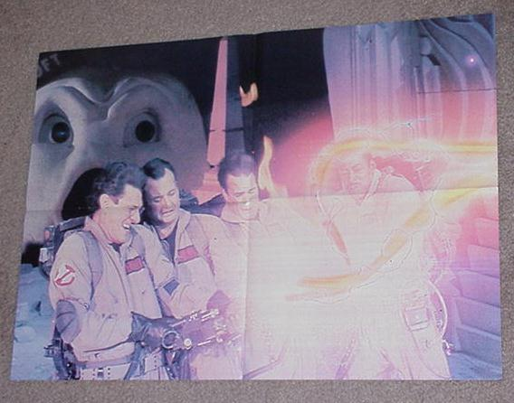 Ghostbusters Movie Poster 2 w Marshmallow Man