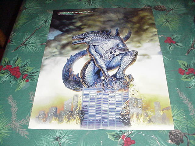 Godzilla Poster King Of Monsters NM
