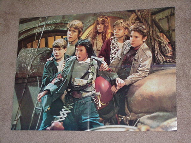 Goonies Movie Poster One Eyed Willy's Pirate Ship!