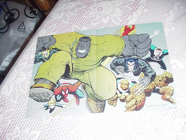 Fantastic Eight Poster Hulk Spider-Man Wolvie