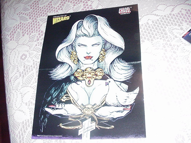 Lady Death Poster Steven Hughes Chaos Animated
