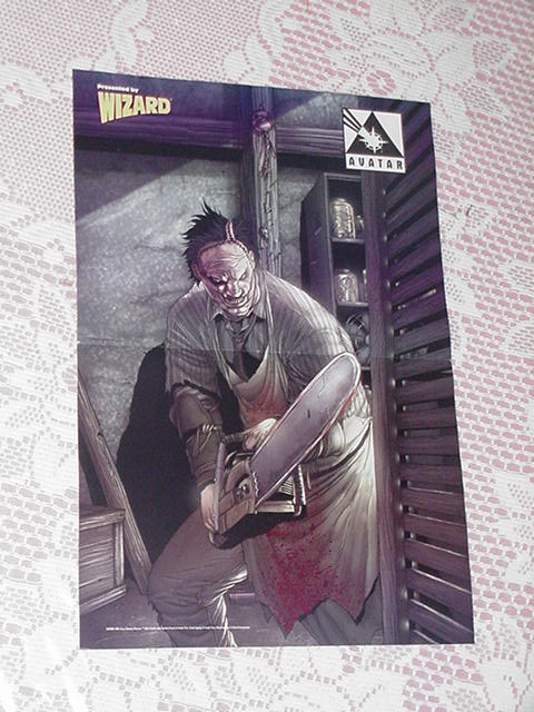 Leatherface Poster Jacen Burrows Texas Chainsaw