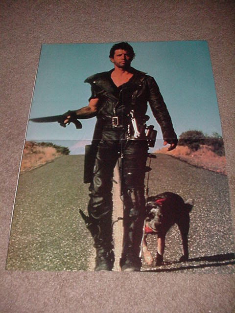 Road Warrior Movie Poster Mel Gibson Mad Max