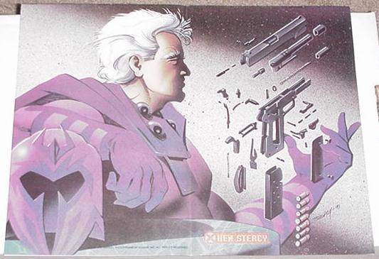 Magneto Power of Magnetism Poster Ken Steacy