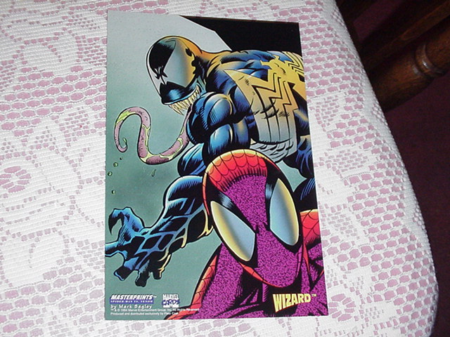 Marvel Masterprints Spider-Man vs Venom Bagley