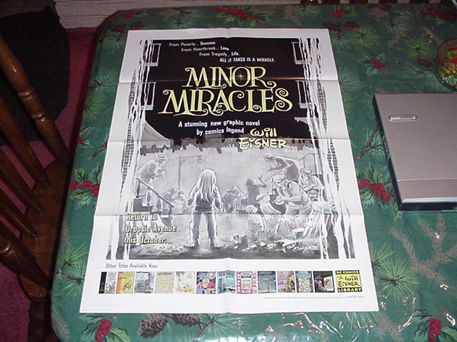 Minor Miracles Poster 24x36 Will Eisner