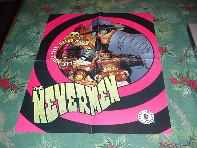 Nevermen Poster Guy Davis