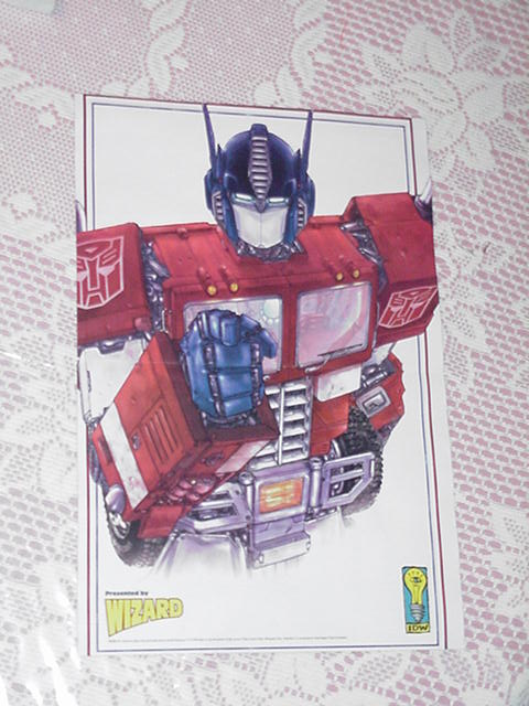 Optimus Prime Wants YOU! Poster Transformers Movie