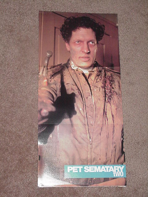 Pet Semetary 2 Horror Movie Poster