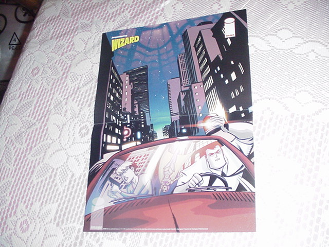 Powers Poster Mike Oeming Brian Bendis Icon Marvel