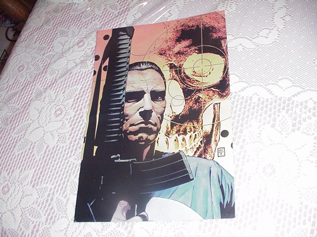 Punisher Poster #4 Tim Bradstreet Max