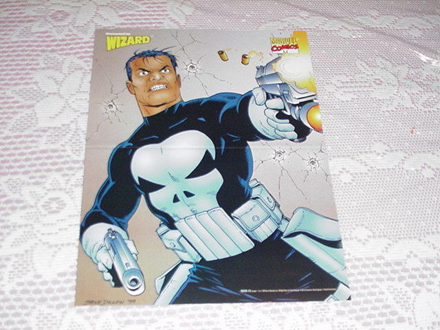 Punisher Poster by Steve Dillon