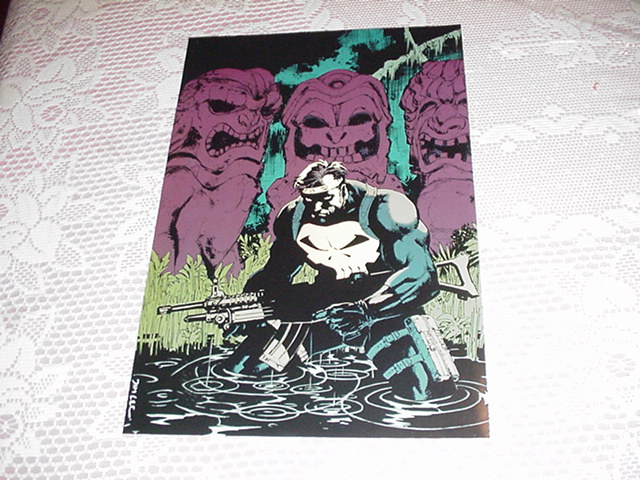 Punisher War Journal Poster Jim Lee