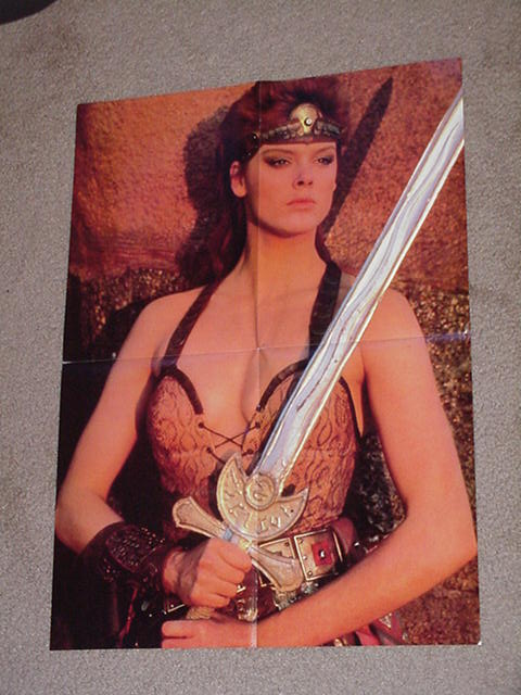 Red Sonja Movie Poster Brigitte Nielsen