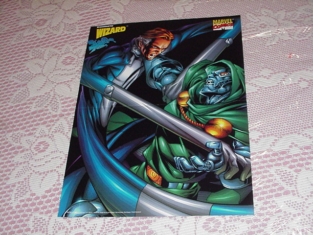 Reed Vs Dr Doom Poster Larocca Fantastic Four