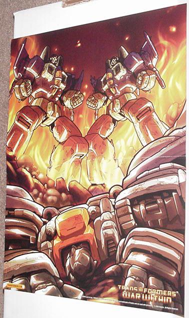 Clone Warriors Poster Pat Lee Transformers
