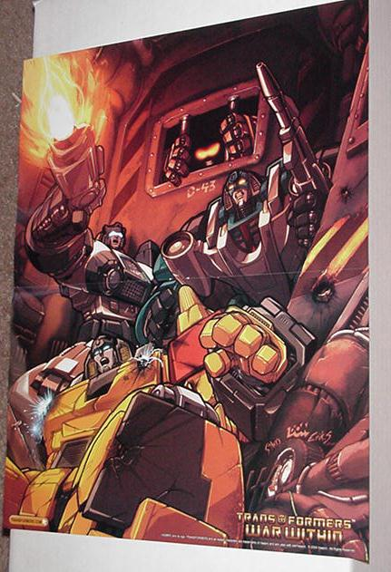 Prison Break Poster Don Figueroa Transformers War