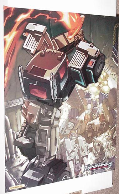 Robots In Disguise Poster Figueroa Transformers