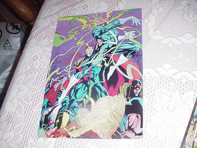 X-Factor Defeated Poster Joe Quesada Quicksilver