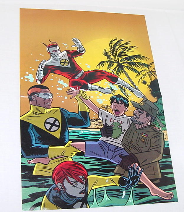 X-Force By Mike Allred Poster X Statix X Men