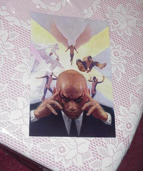 Original X-Men Poster Paolo Rivera Angel Jean Grey