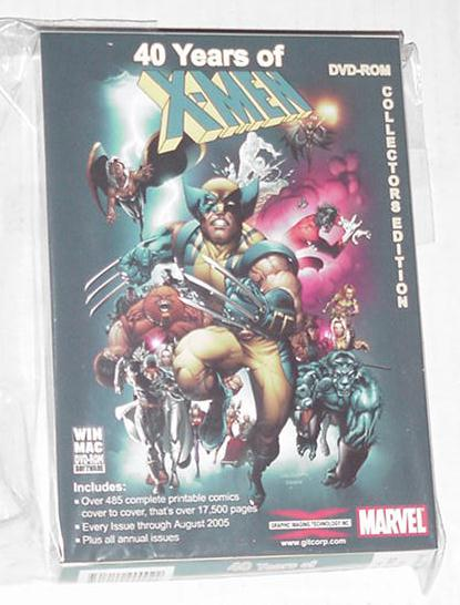 40 Years of X-Men DVD READ COMICS ON TV! Madureira
