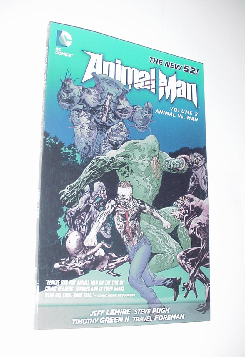 Animal Man Volume 2 Animal vs Man TP Jeff Lemire