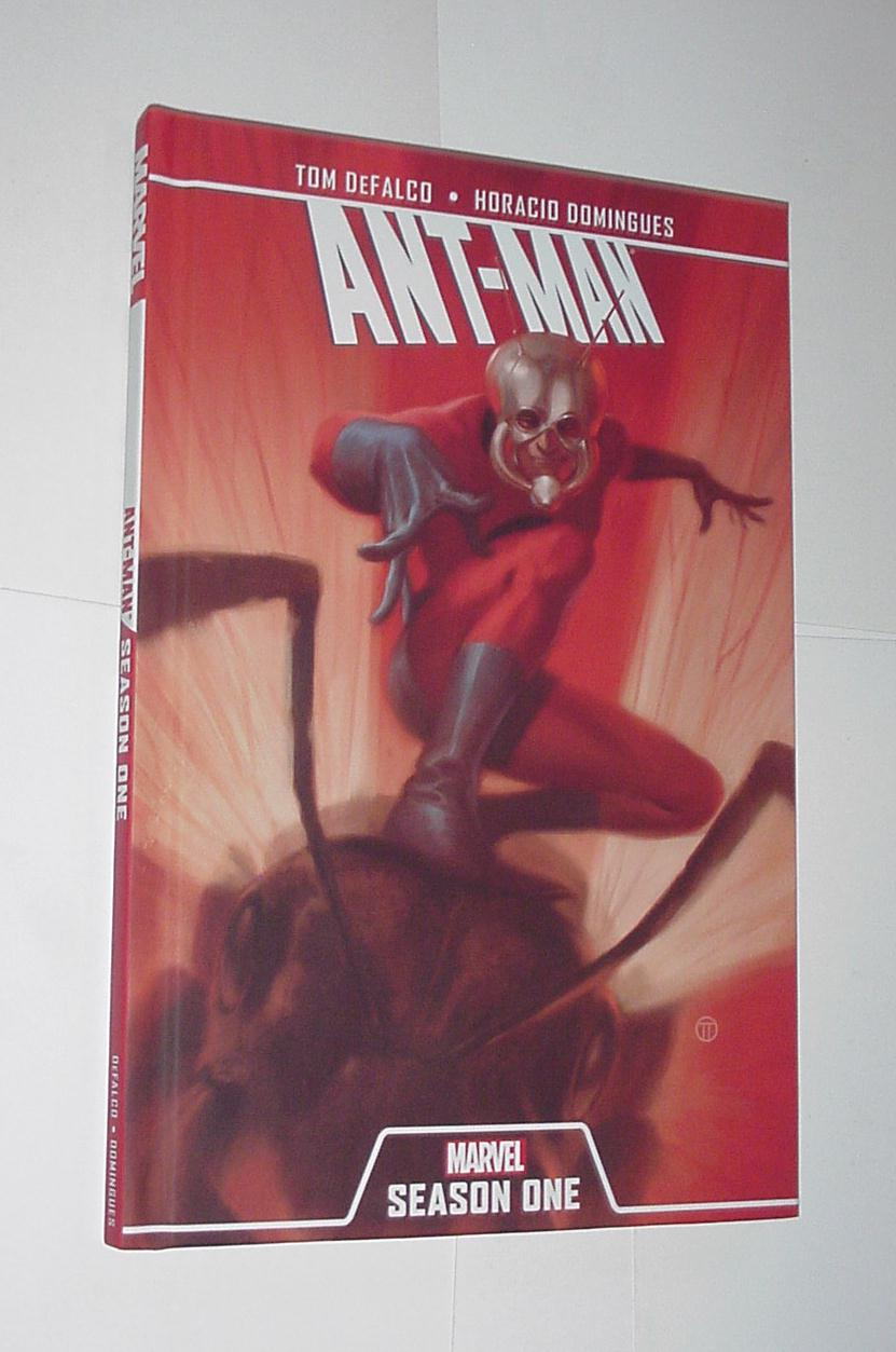 Ant-Man Season One HC 1st print Tom DeFalco Movie