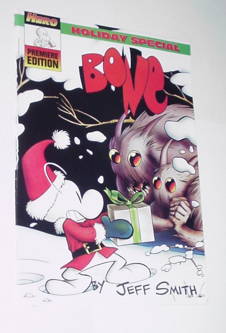 Bone Holiday Special NM Jeff Smith 1993