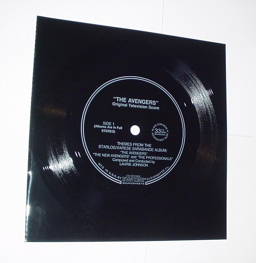 Laurie Johnson Themes 33 1/2 Vinyl Avengers SciFi