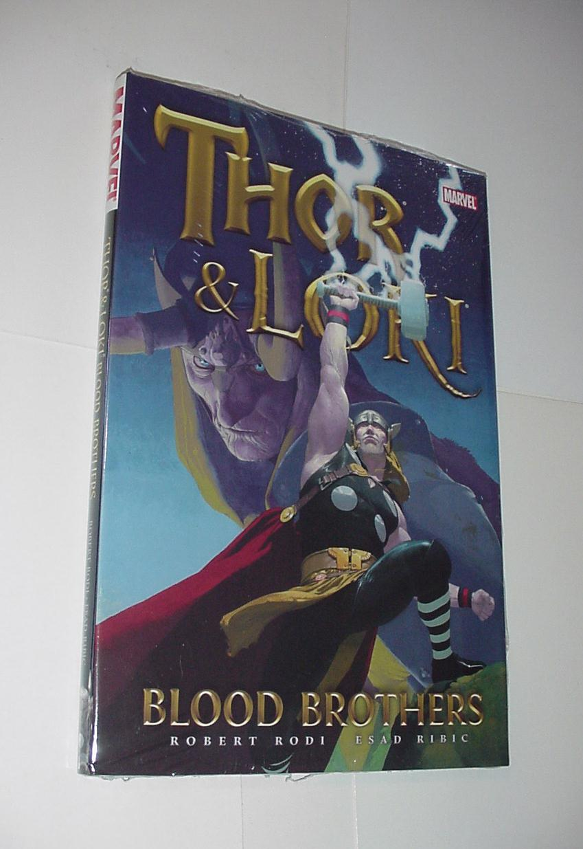 Thor and Loki Blood Brothers HC Loki Esad Ribic