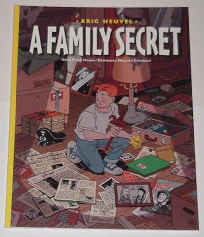 A Family Secret TP NM Holocaust Comic Recommended!