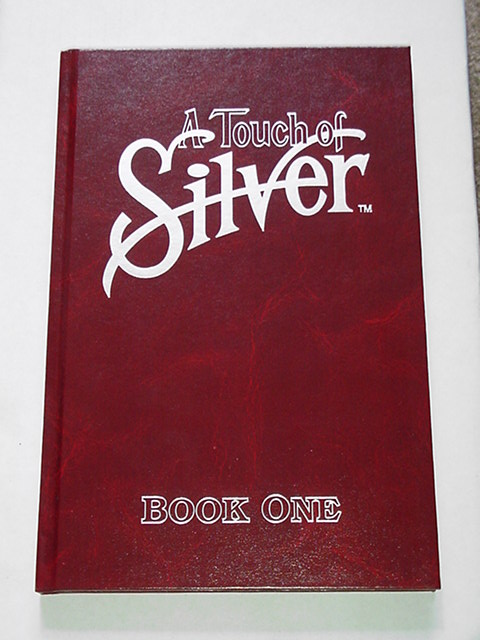 A Touch Of Silver HC Jim Valentino RARE NM 1of100