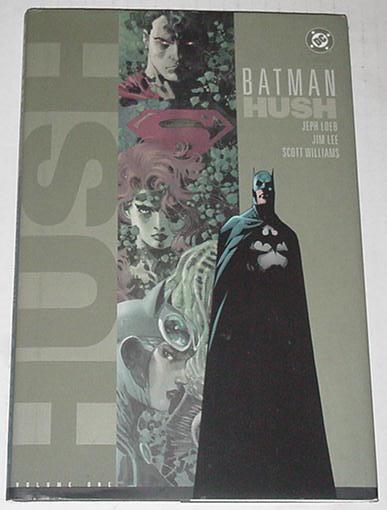 Batman Hush V1 HC 1st Print Binding Screwed Rip Cv