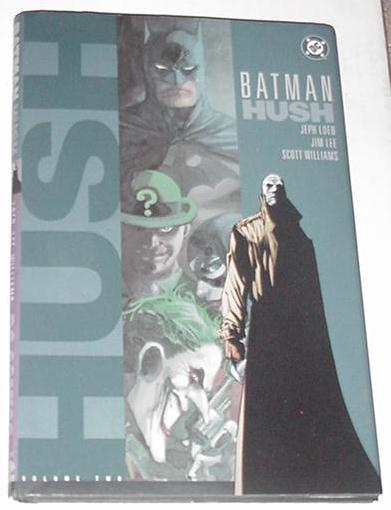Batman Hush V2 HC 1st Print Dust Jacket NOT in NM