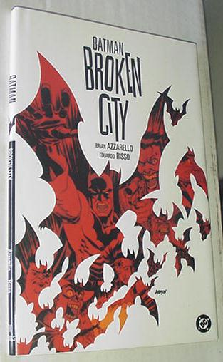 Batman Broken City HC Brian Azzarello Risso NM