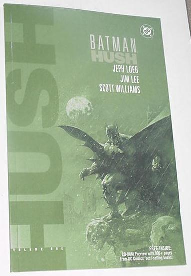 Batman Hush V1 TPB VS SUPERMAN! w FREE CD-ROM