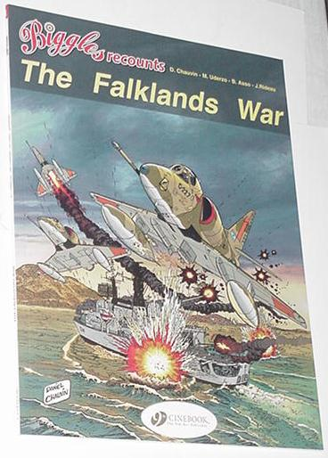 Biggles Recounts The Falklands War TP