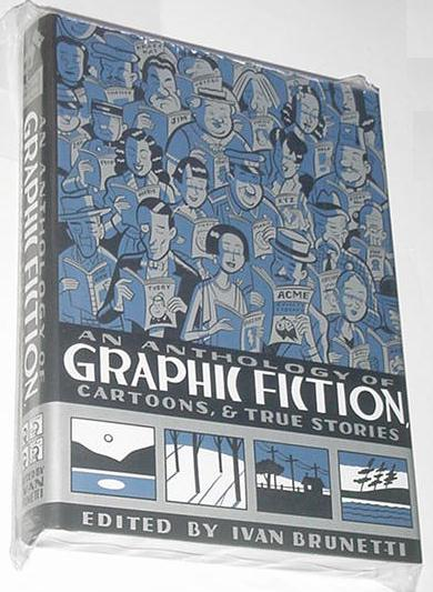 Anthology of Graphic Fiction HC Crumb Burns