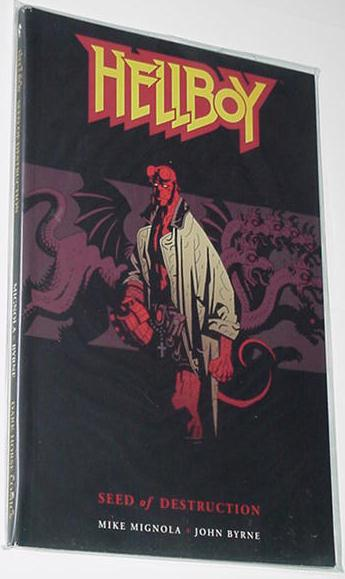 Hellboy Seed of Destruction TP NM Mike Mignola