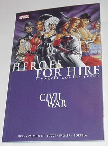 Heroes for Hire V1: Civil War TP Captain America