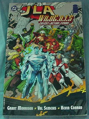 JLA Wildcats NM Great Book! Grant Morrison