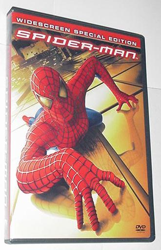 Spider-Man DVD Widescreen Sam Raimi 2 Disks