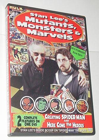 Stan Lee's Mutants Monsters Marvels DVD KevinSmith