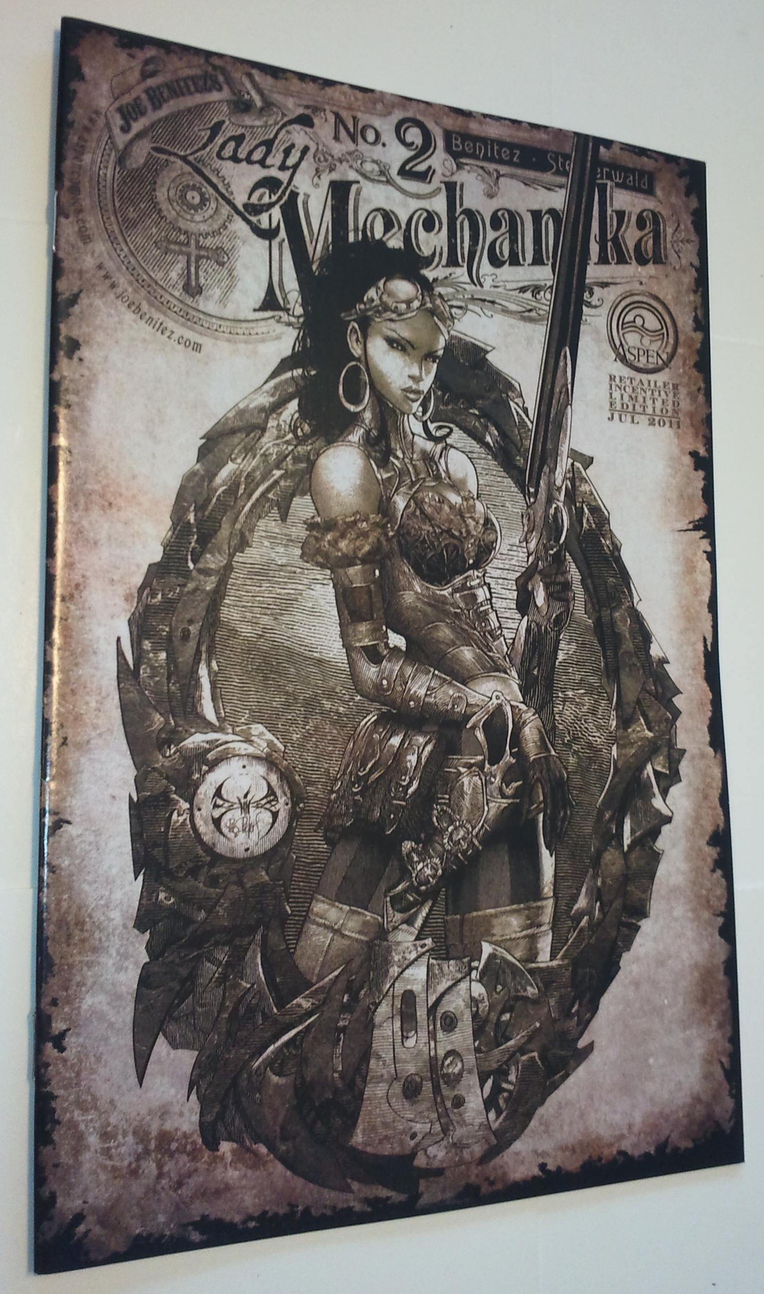 HAUNTED CITY 2011 NYCC PRINT SIGNED BY JOE BENITEZ