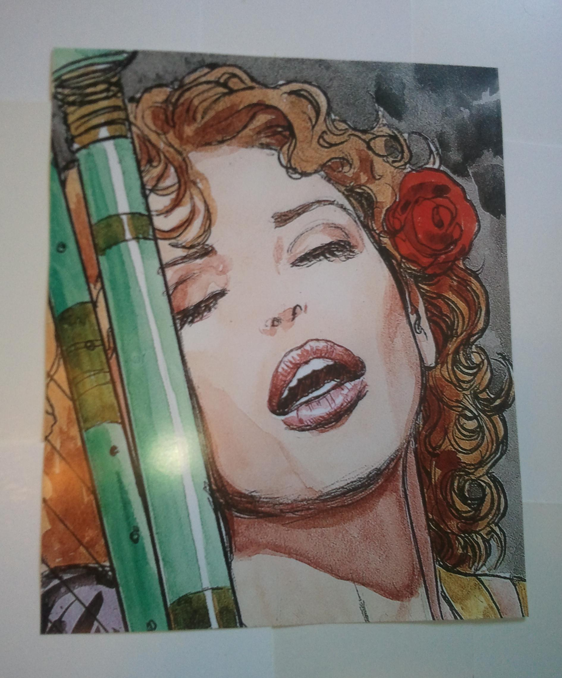 Details About Sandman Pin Up 99 What I Ve Tasted Of Desire By Milo Manara Rose