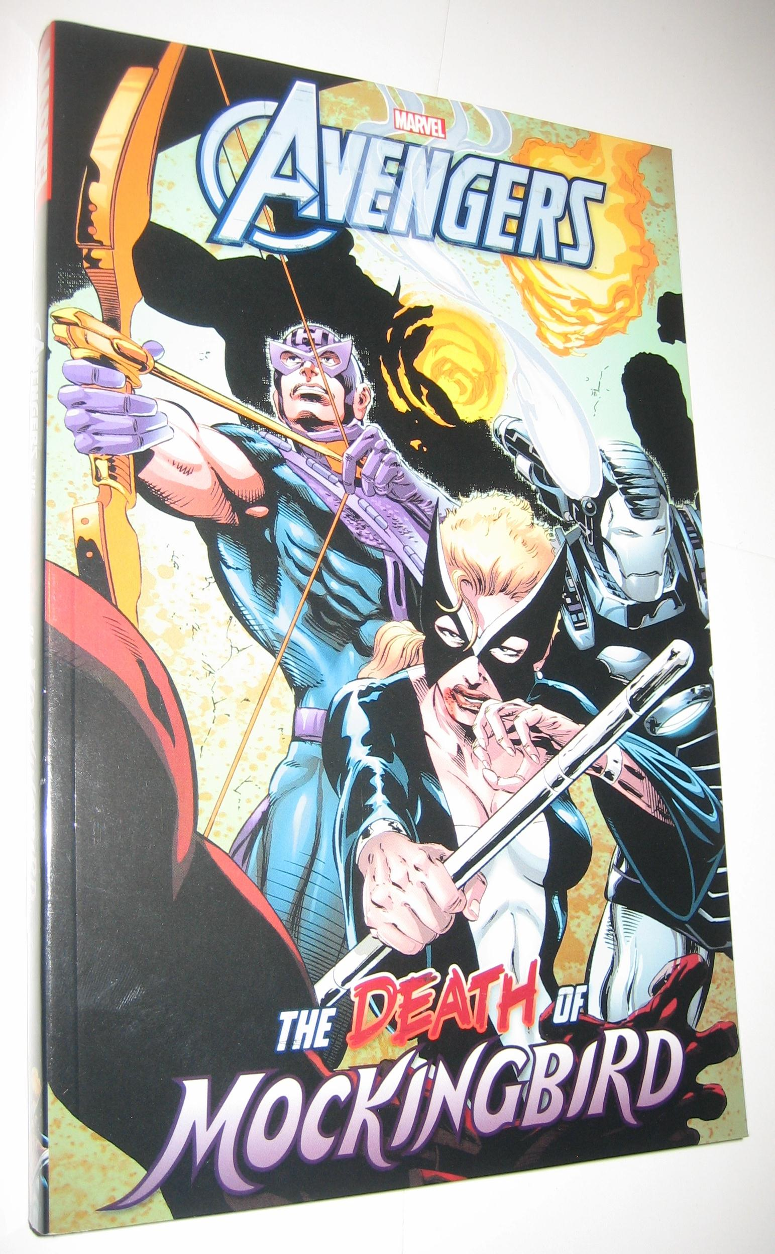 384 Pages New Paperback AVENGERS THE DEATH OF MOCKINGBIRD GRAPHIC NOVEL